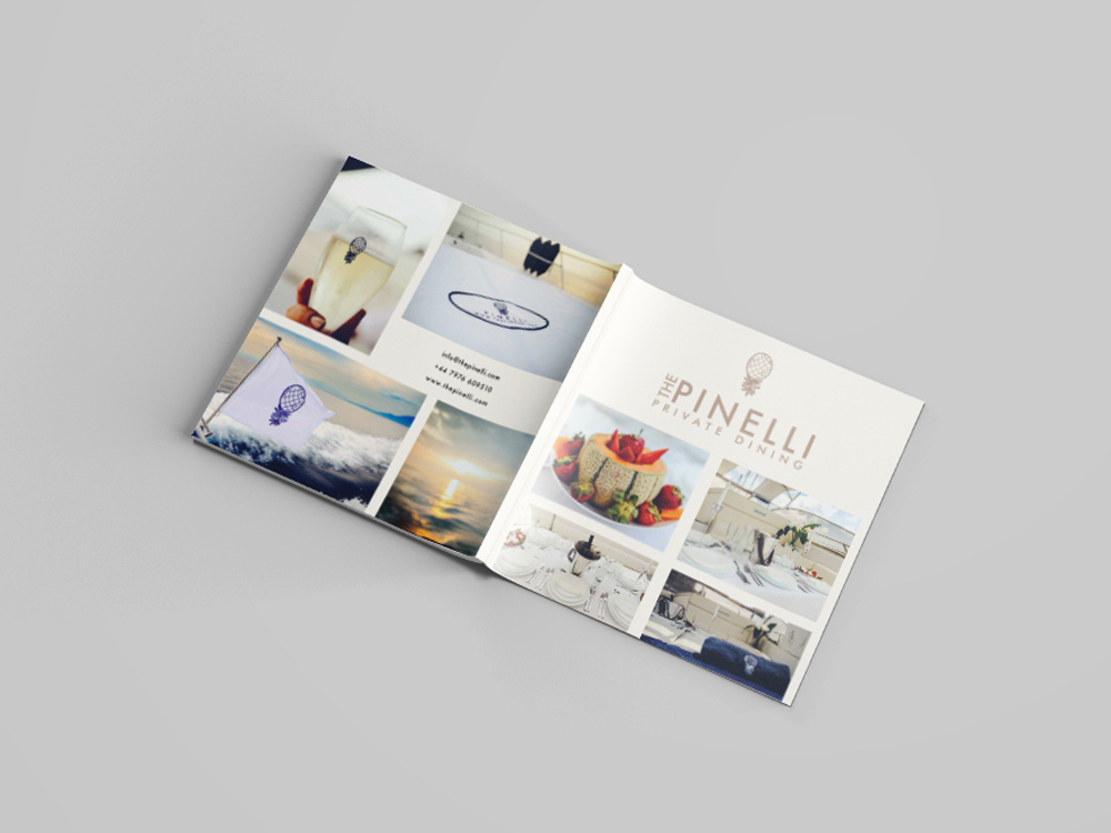 Pinelli Private Dining menu