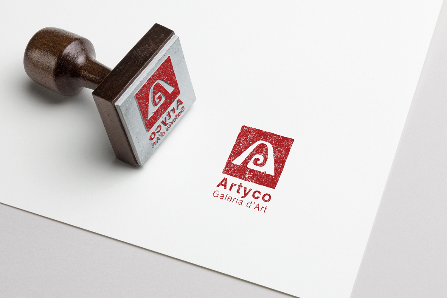 Artyco gallery stamp