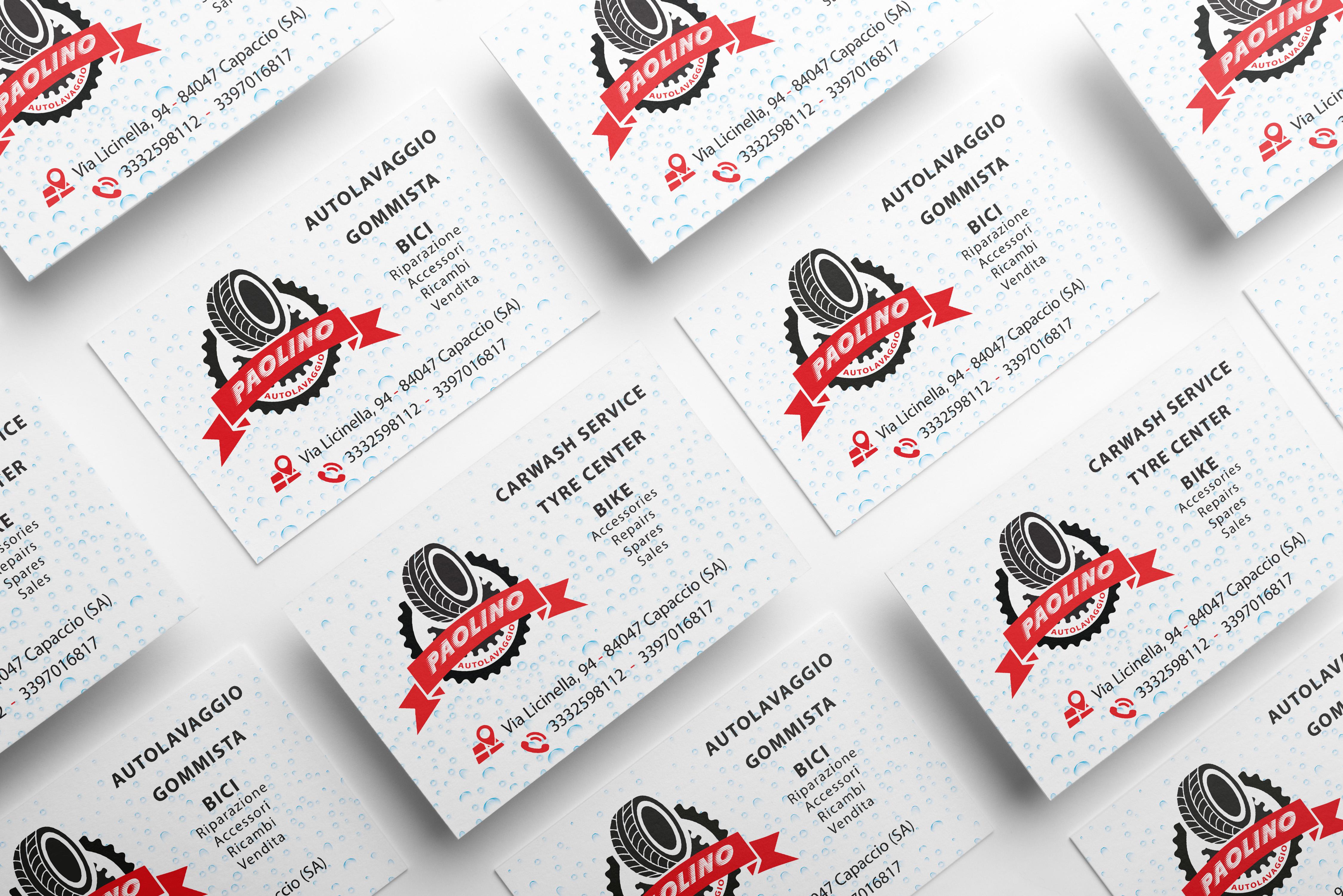 Bilingual business card