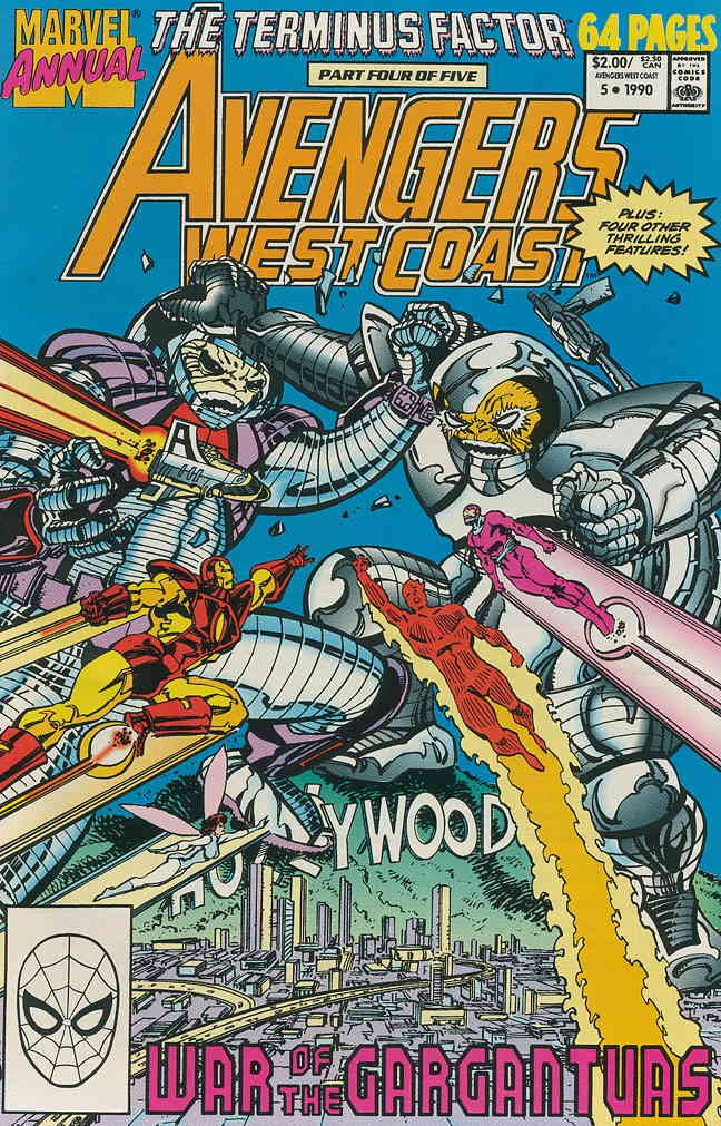 Avengers West Coast Annual #5