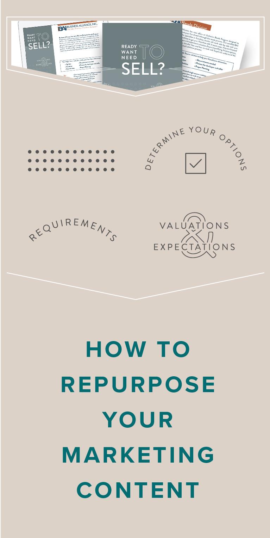 repurposing your marketing content