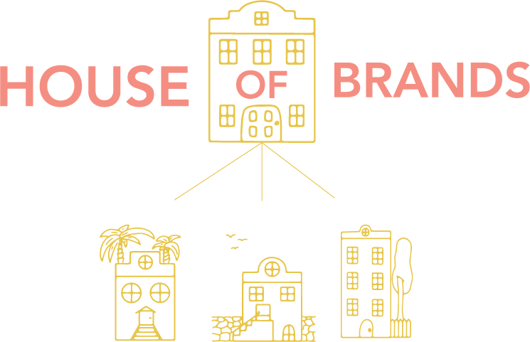 House of brands- define your sub-brands