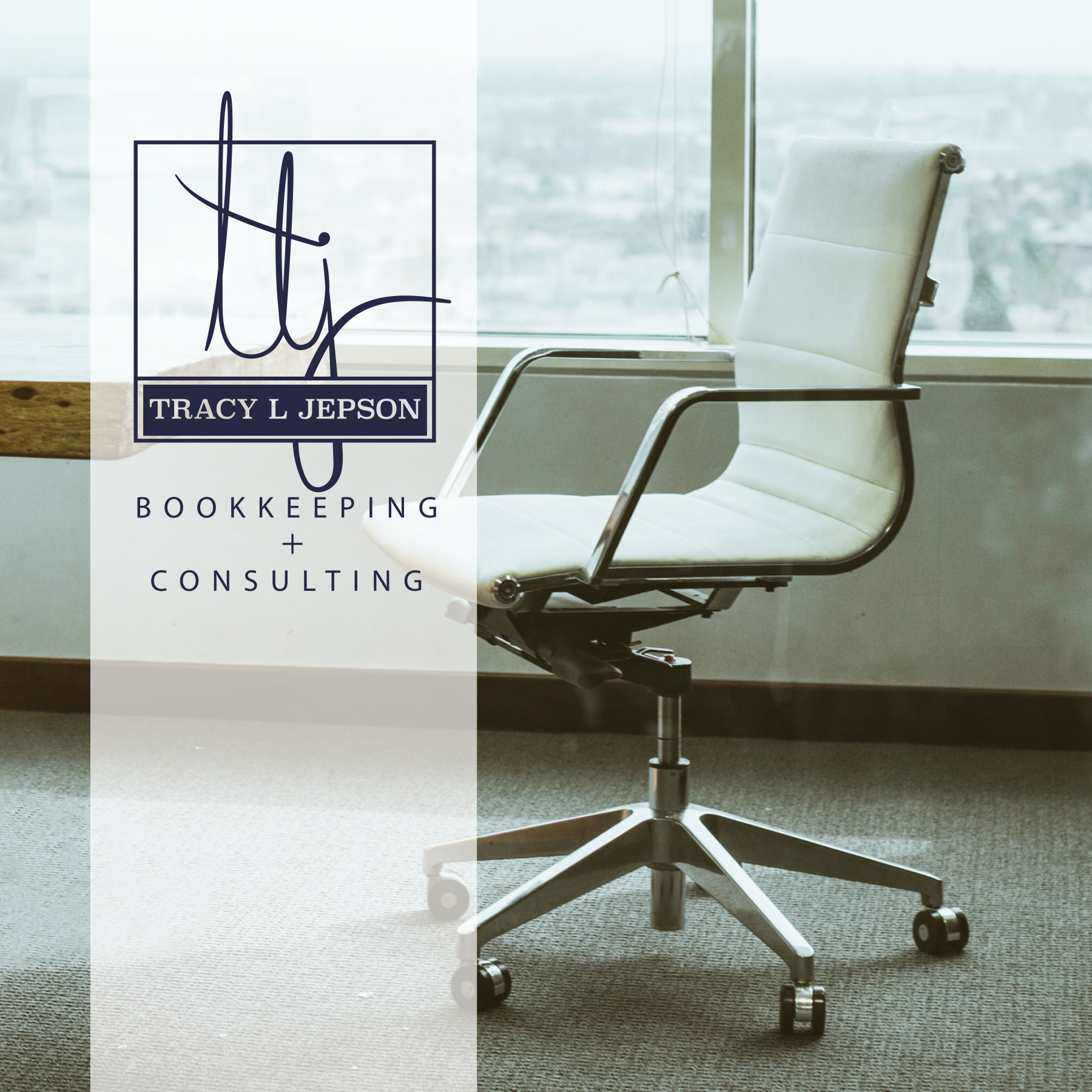 Bookkeeping and Consulting logo design
