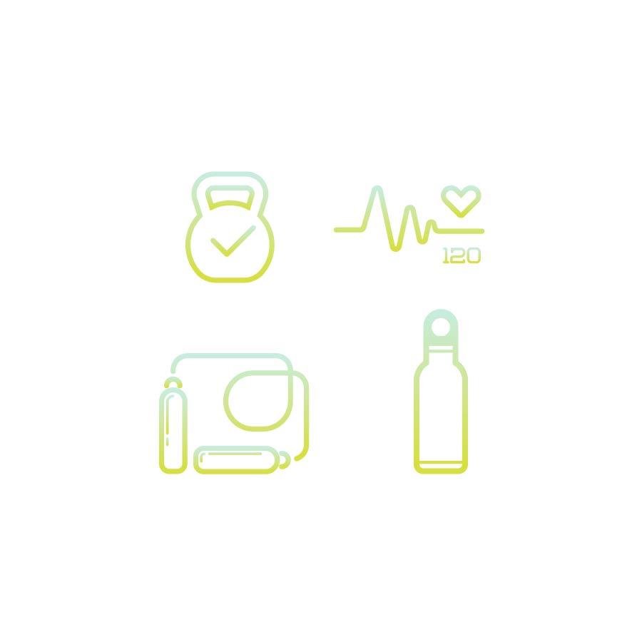 fitness icon design