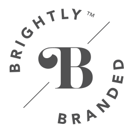 brightly branded icon