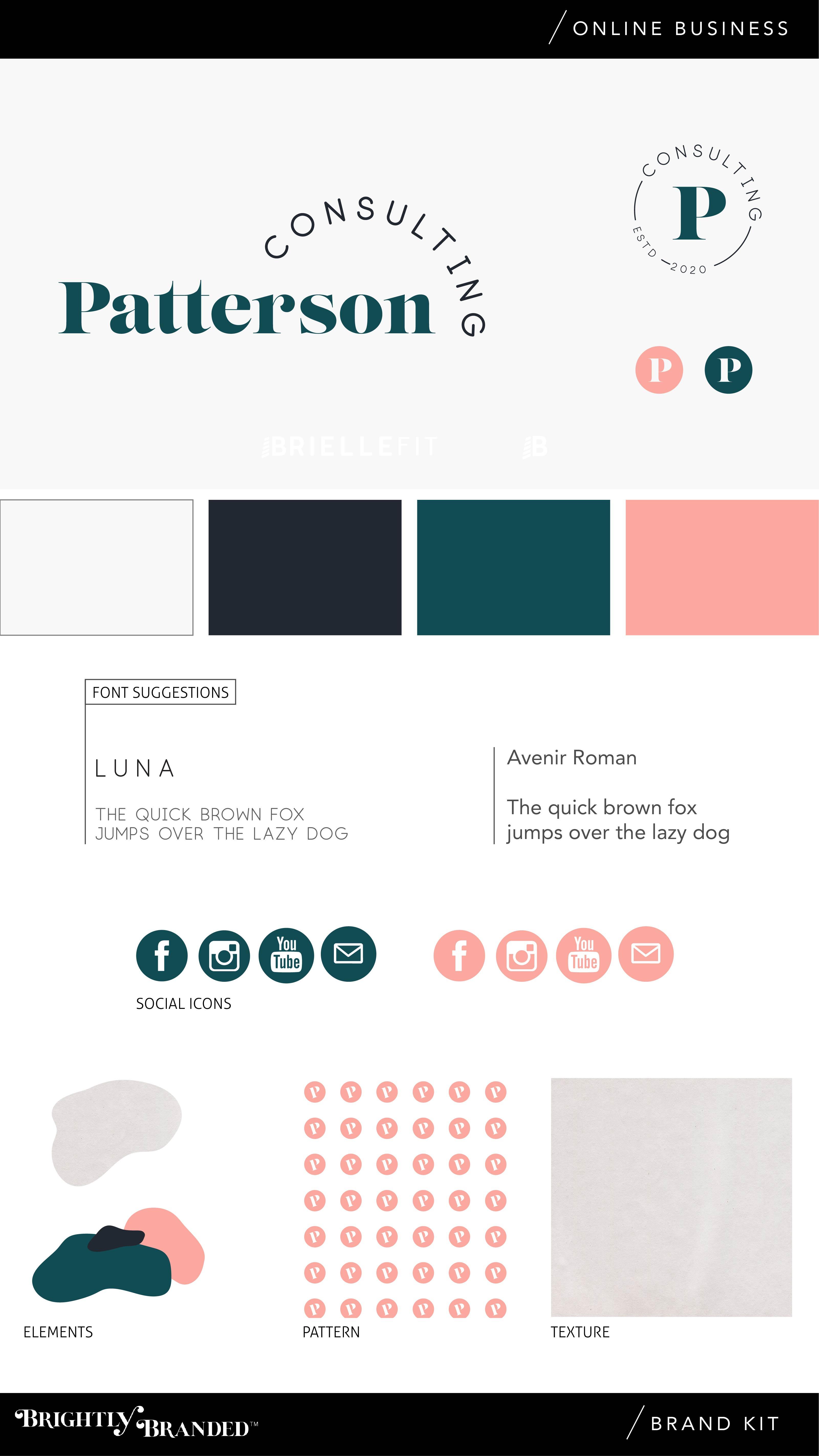 online brand logo design kit