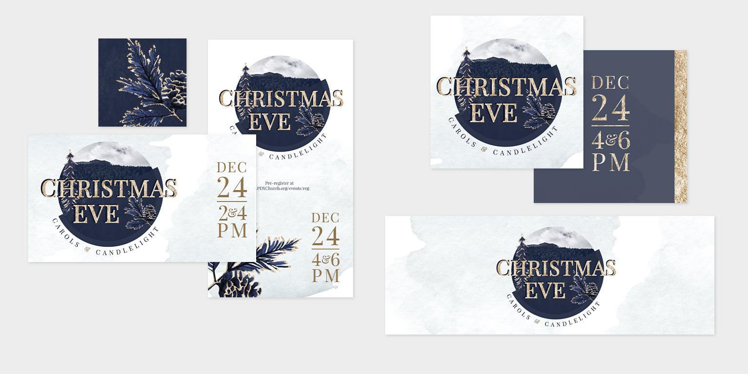 Christmas Eve Sermon Series Art