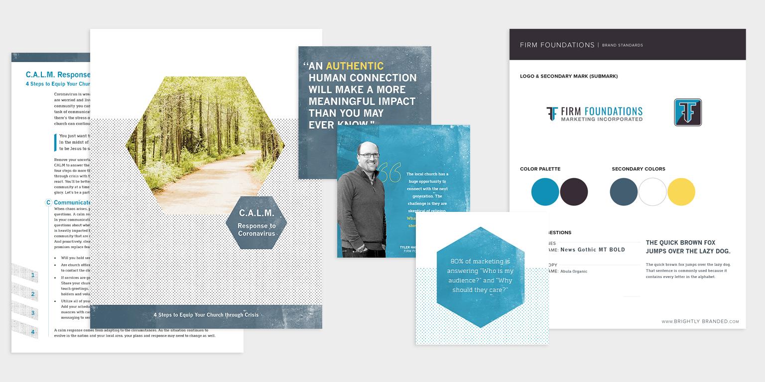 brand guide design development