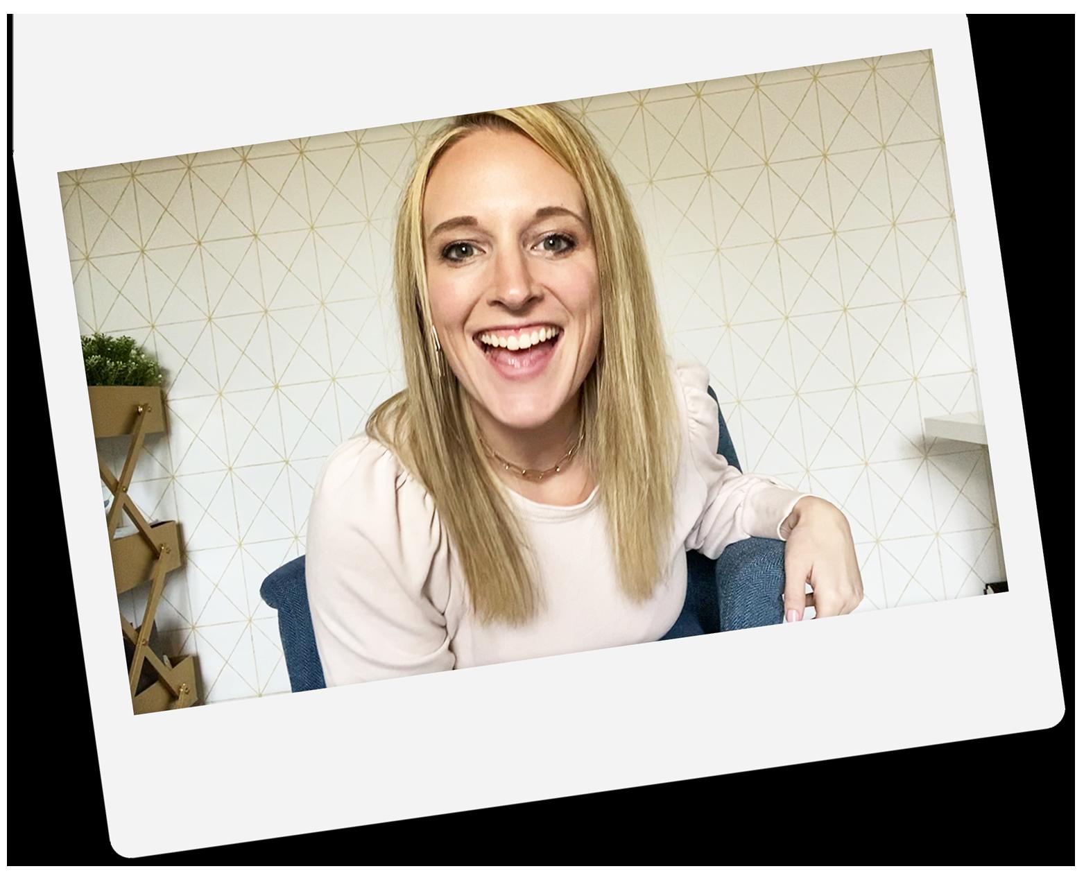 Amie Baker- graphic designer for ministries