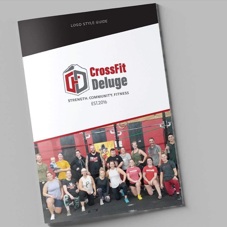 Crossfit branding logo style guide