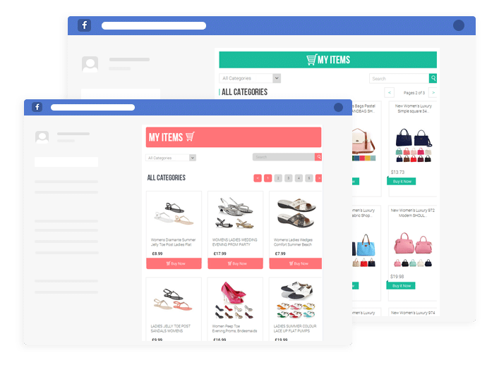 sell ebay items on facebook with 3dsellers