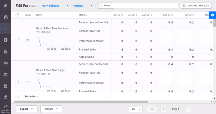 brightpearl ebay inventory manager