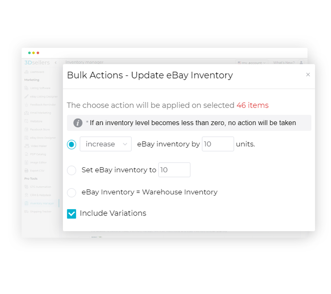 Ebay Inventory Manager Your Ebay Inventory Always On