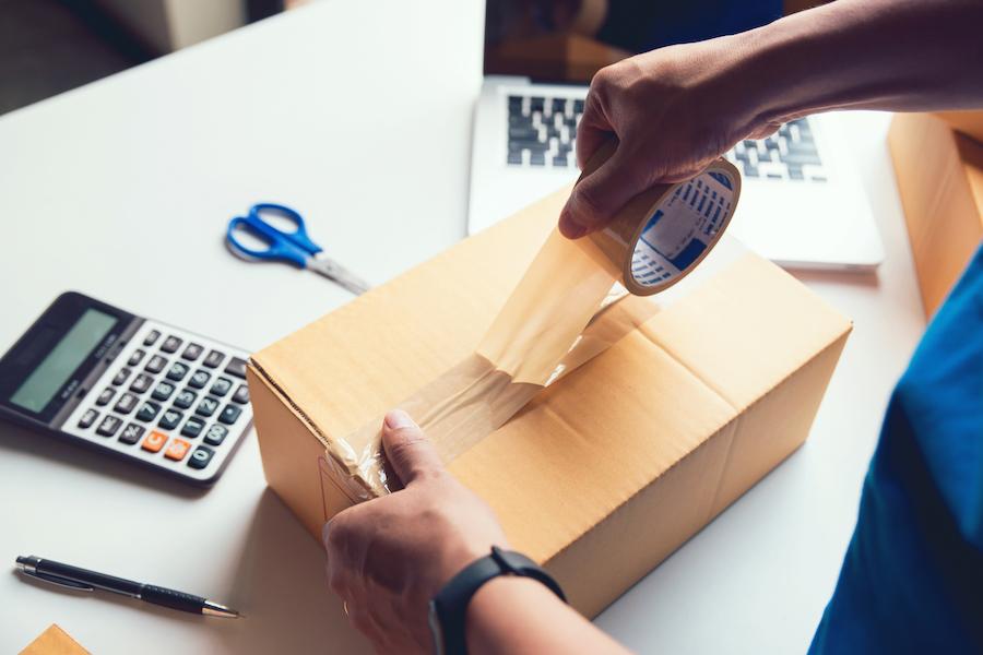 box packaging image
