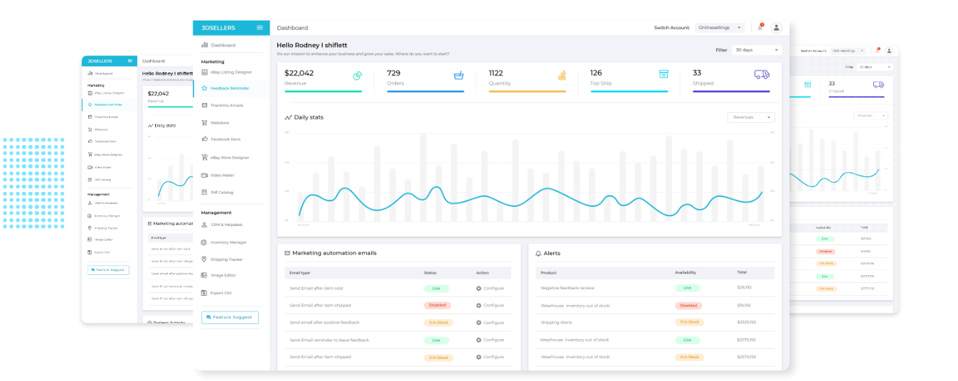 3dsellers platform preview