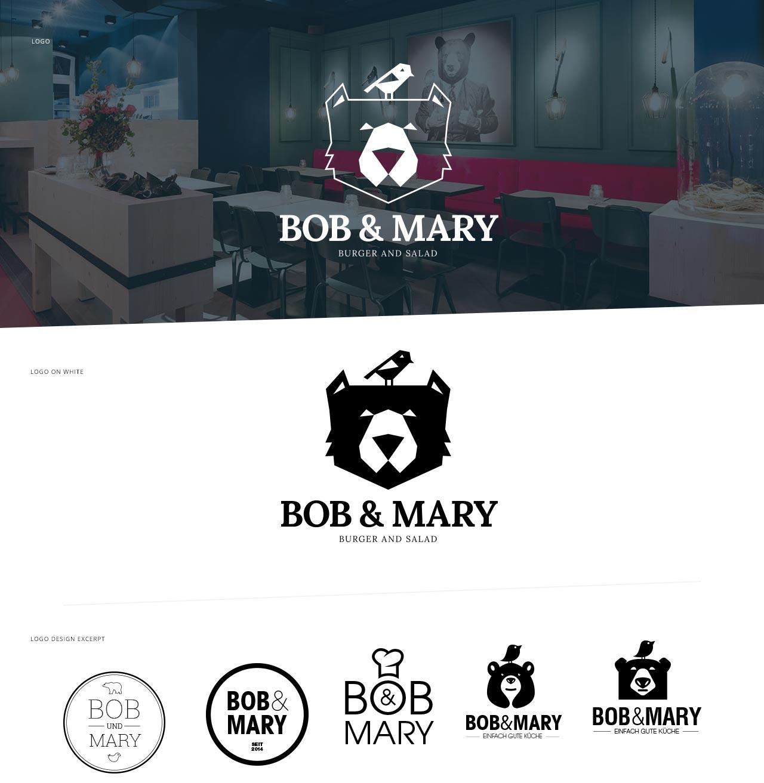 Bob und Mary: Entwicklung eines neuen Logos und Corporate-Designs