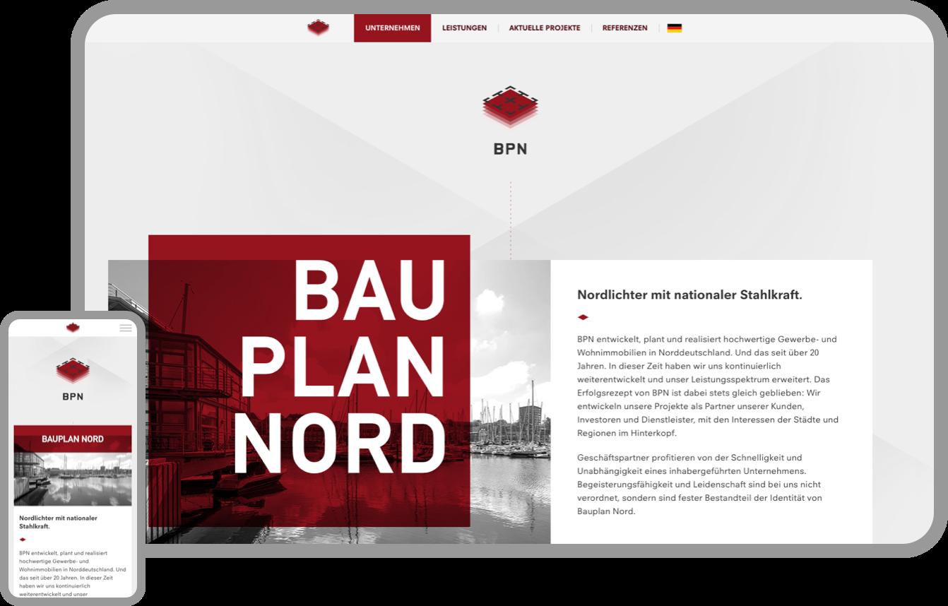 Konzeption und Design einer neuen Homepage für ein internationales Ingenieursbüro aus Düsseldorf.