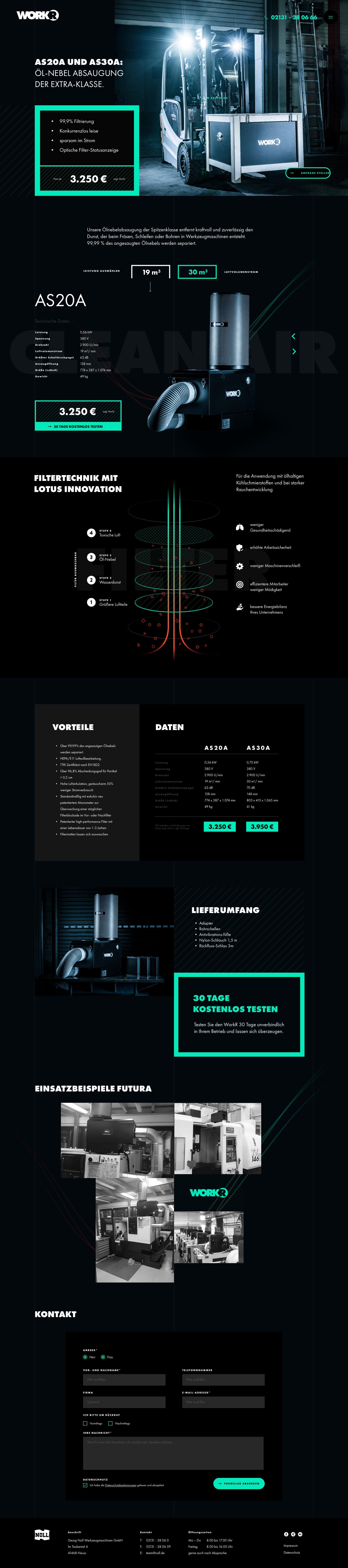 Workr Homepage Webdesign & Digital Branding