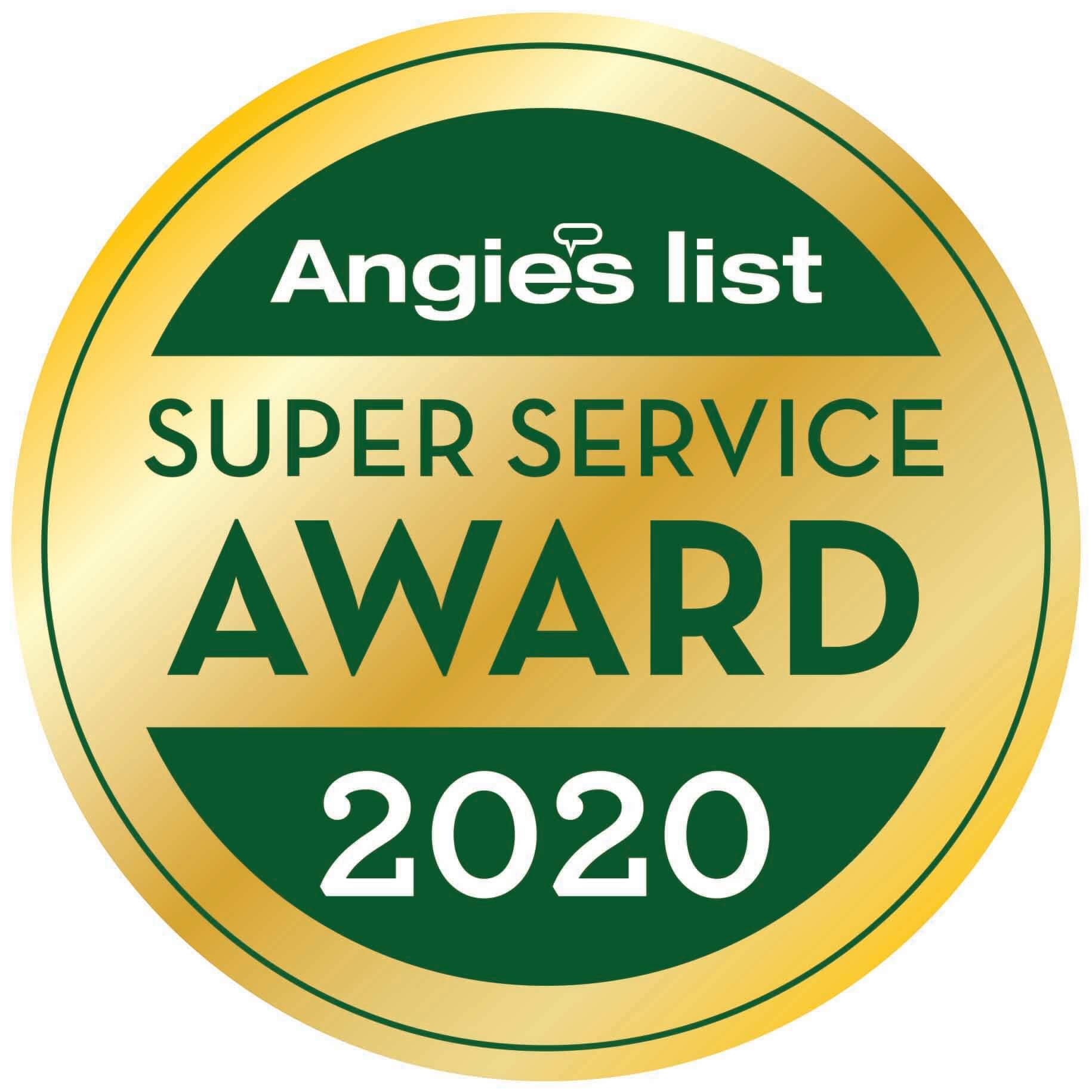 Angies List Award 2020