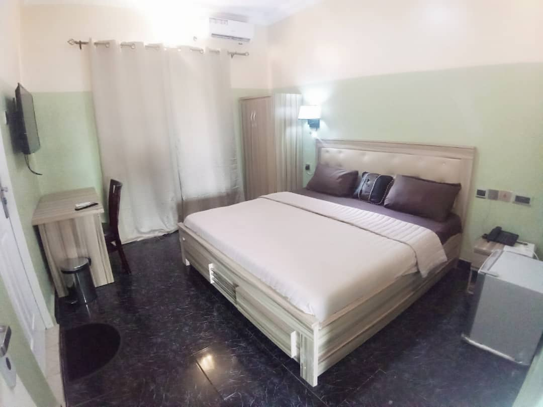 The executive Suite in Asaba gardens and Resort