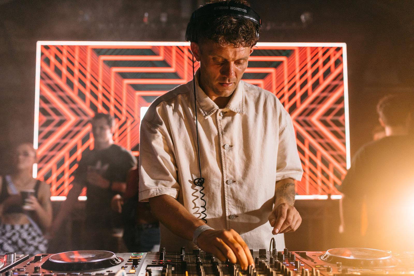 DJ at ReOpening Party