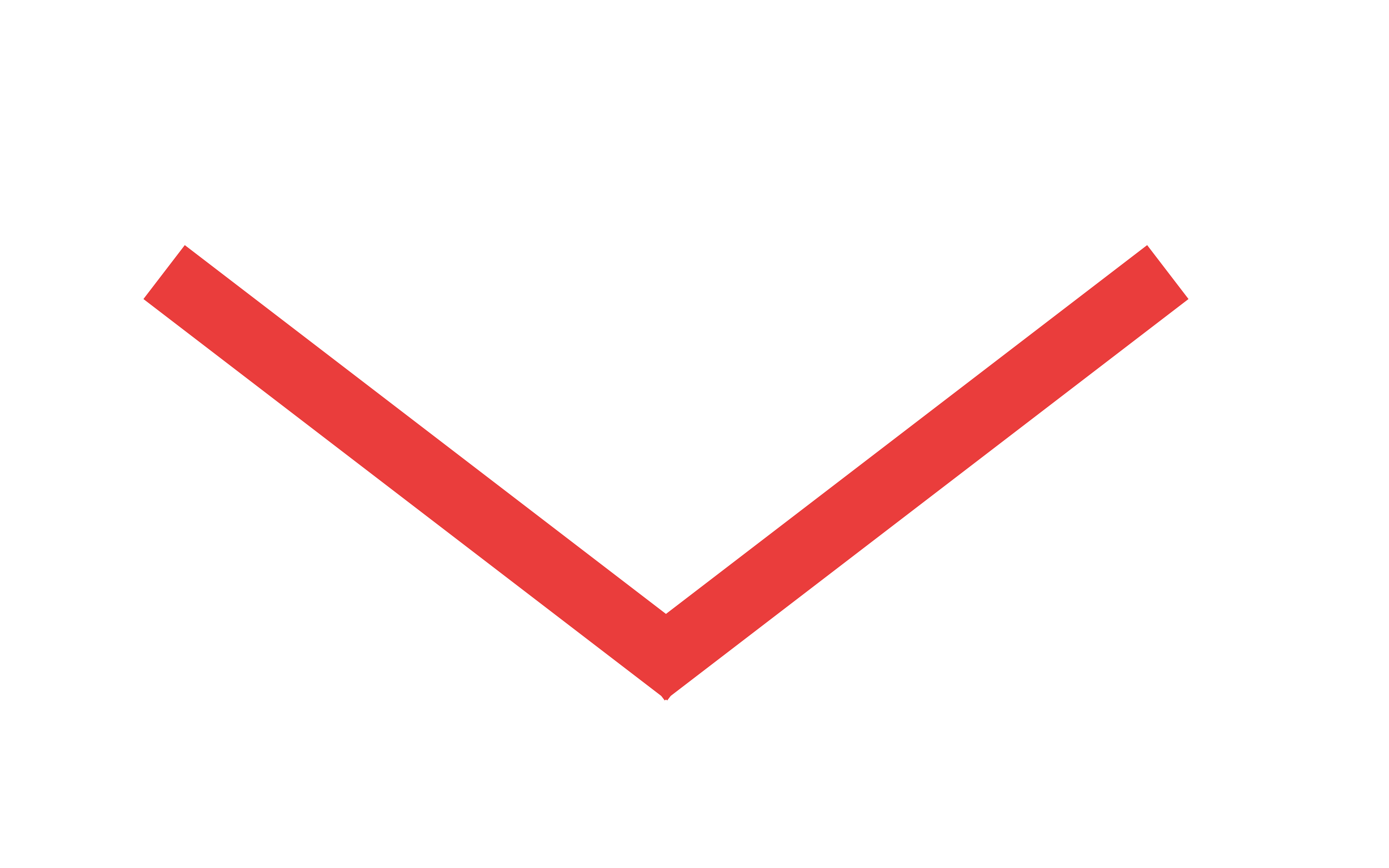 Red scroll arrow