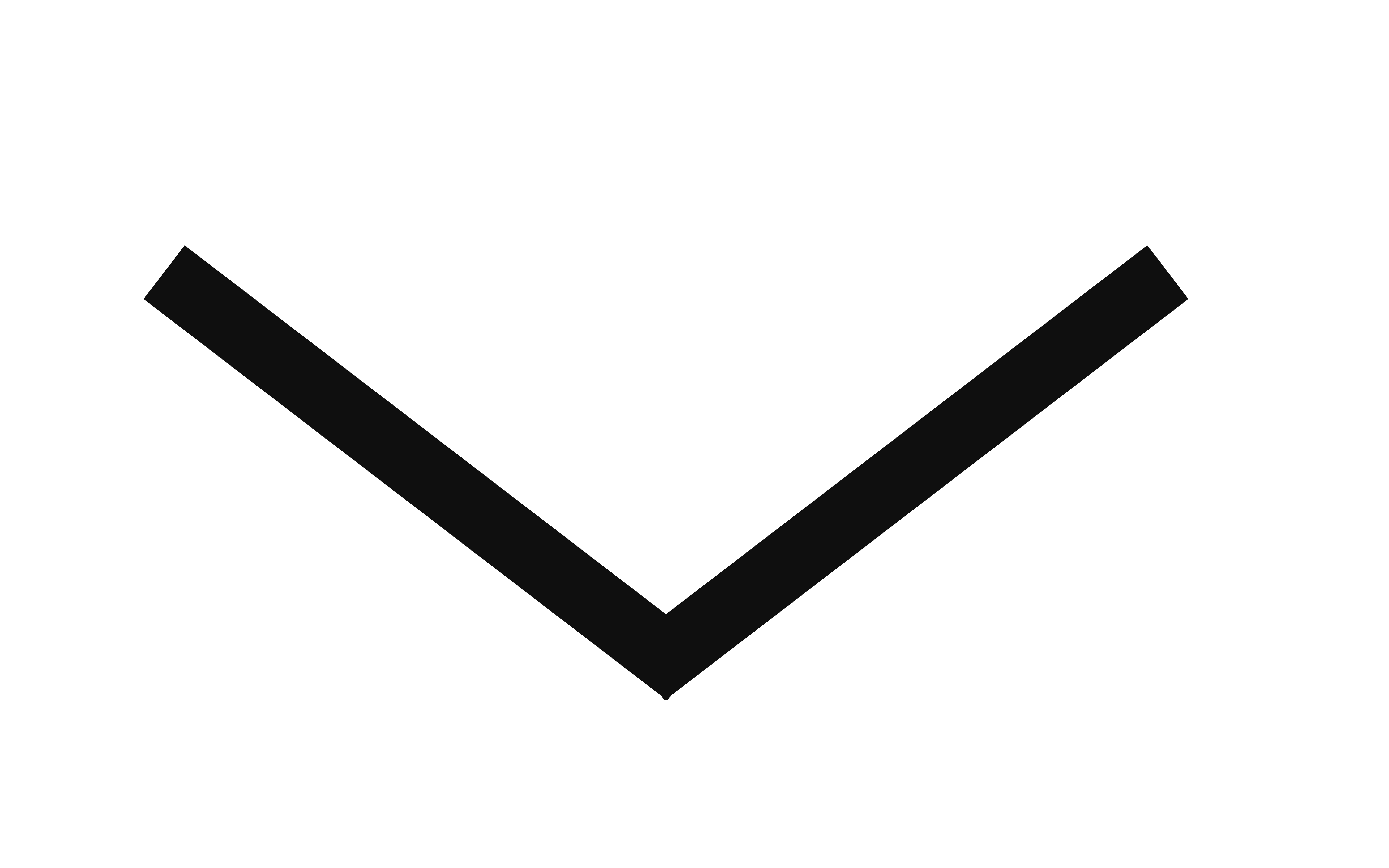 black scroll arrow
