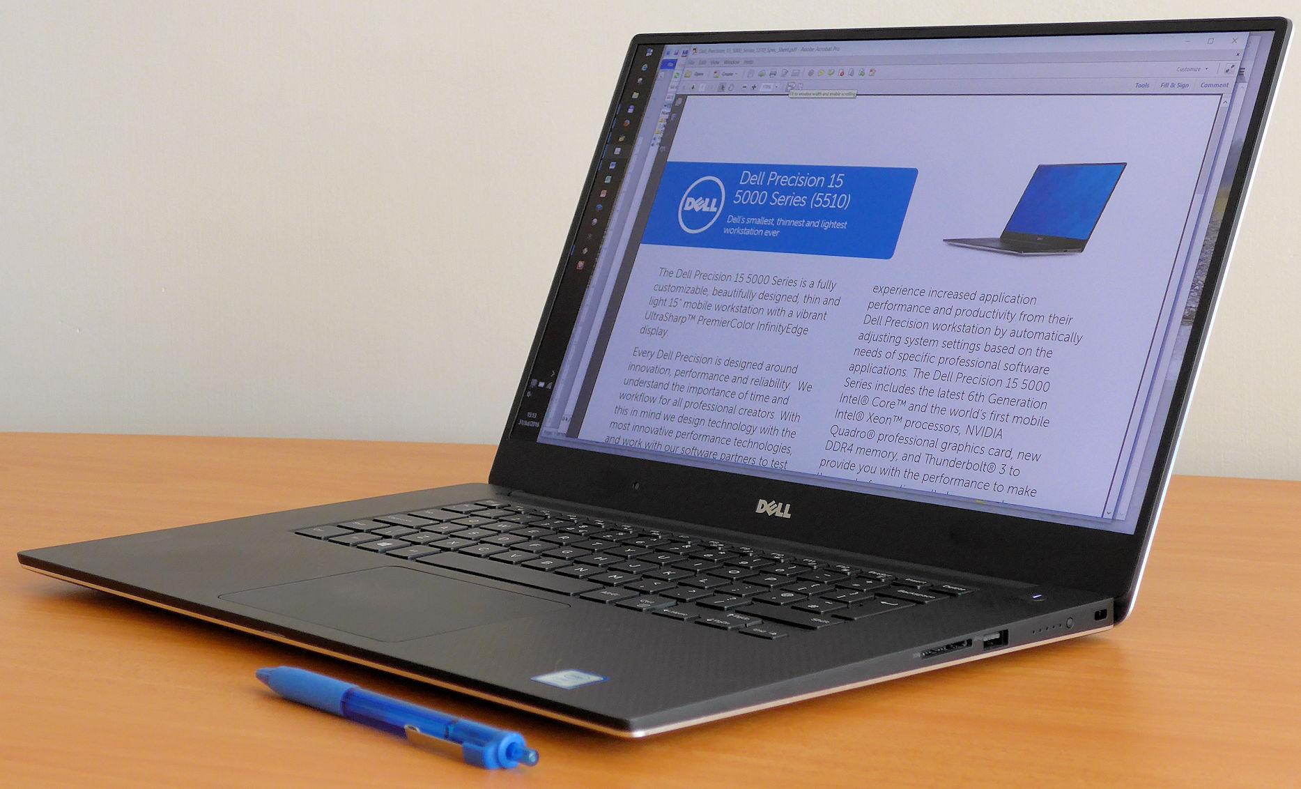 Dell Precision M5510 ghi điểm tuyệt đối cả về thiết kế và cấu hình