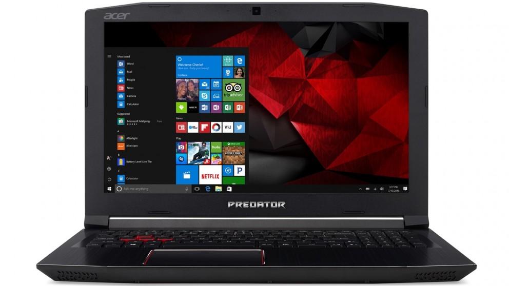 Thiết kế đẹp mắt của Acer Predator Helios 300