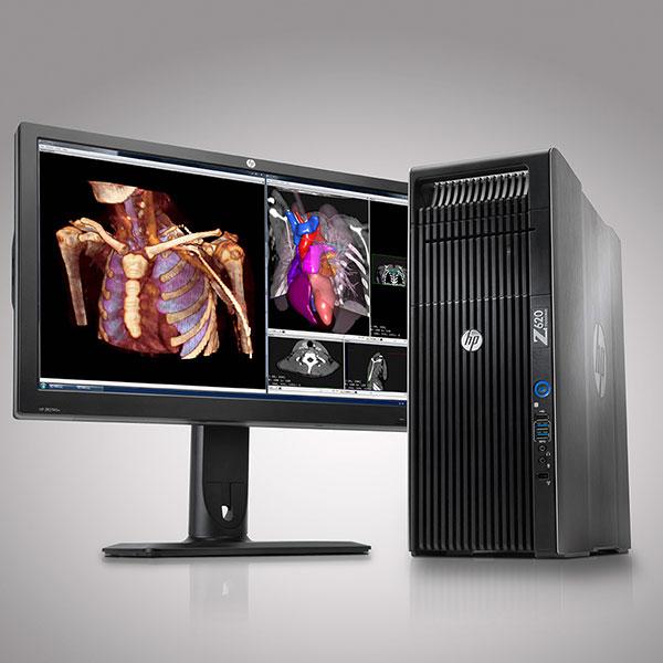Thiết kế máy HP Workstation Z620 nhỏ gọn thời trang