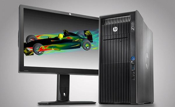 HP Z820 sở hữu cấu hình mạnh mẽ chuyên dành cho đồ hoạ