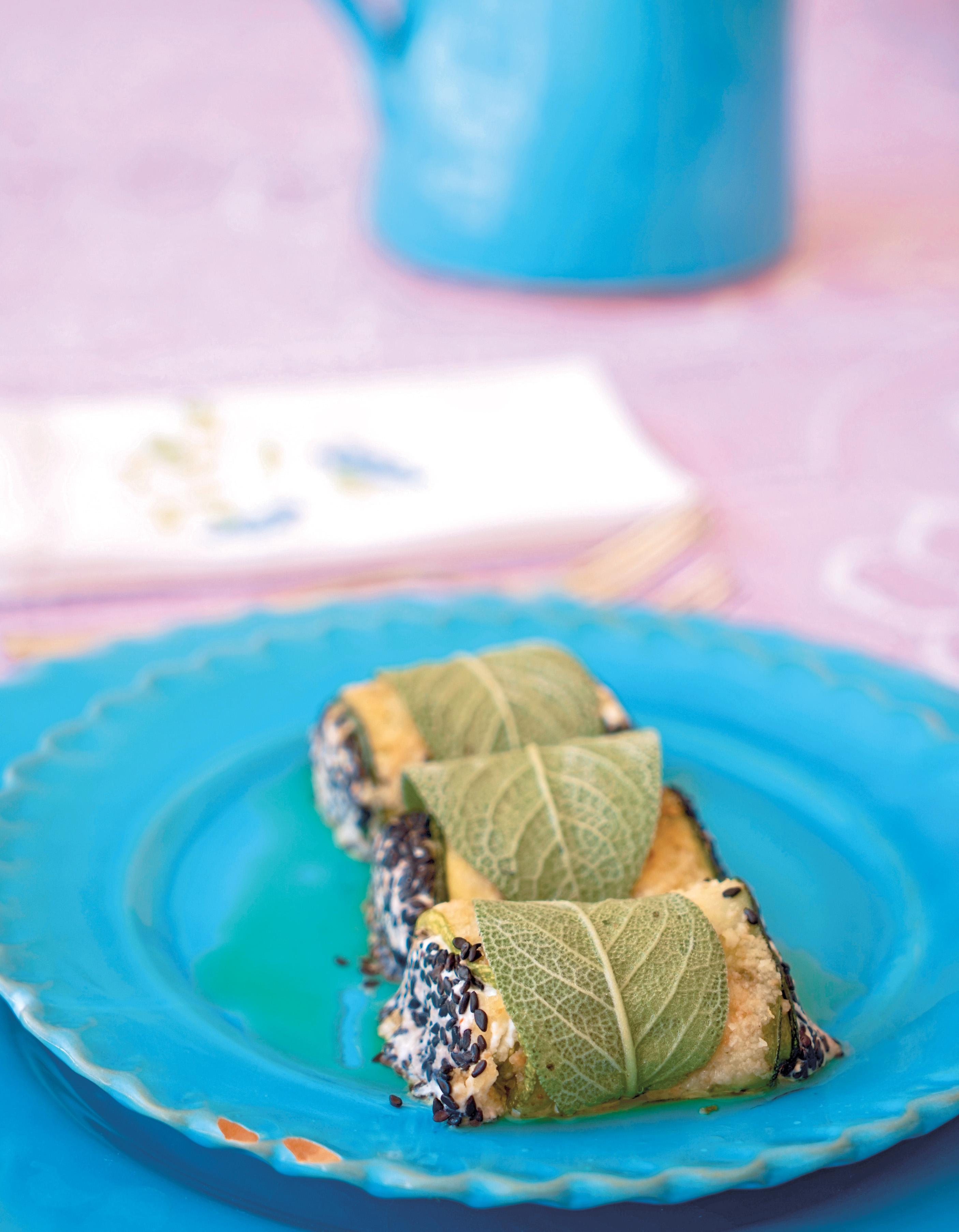 Rotolini di Zucchini con Ricotta (Ricotta-Stuffed Zucchini)
