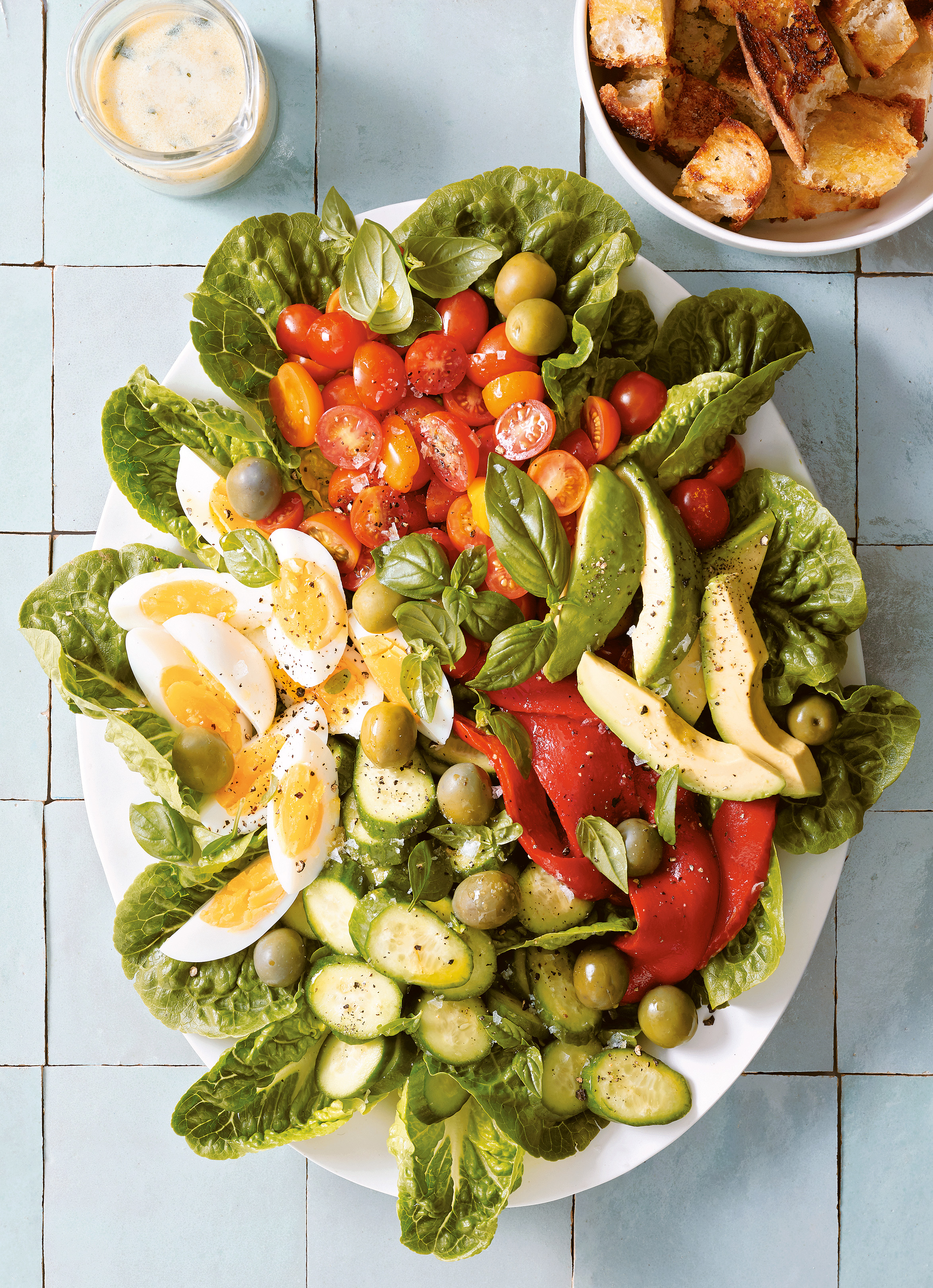 Summer-on-a-Platter Salad