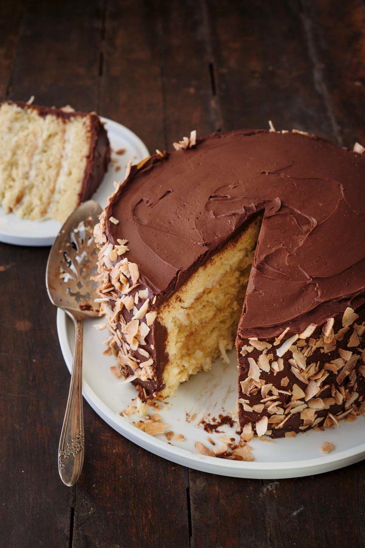 Coconut Cream Party Cake