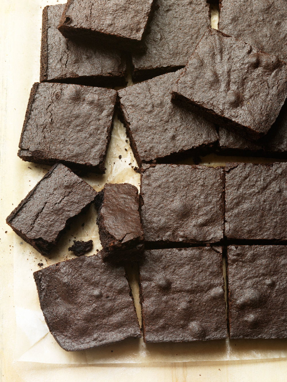 Heritage Dark Chocolate Brownies