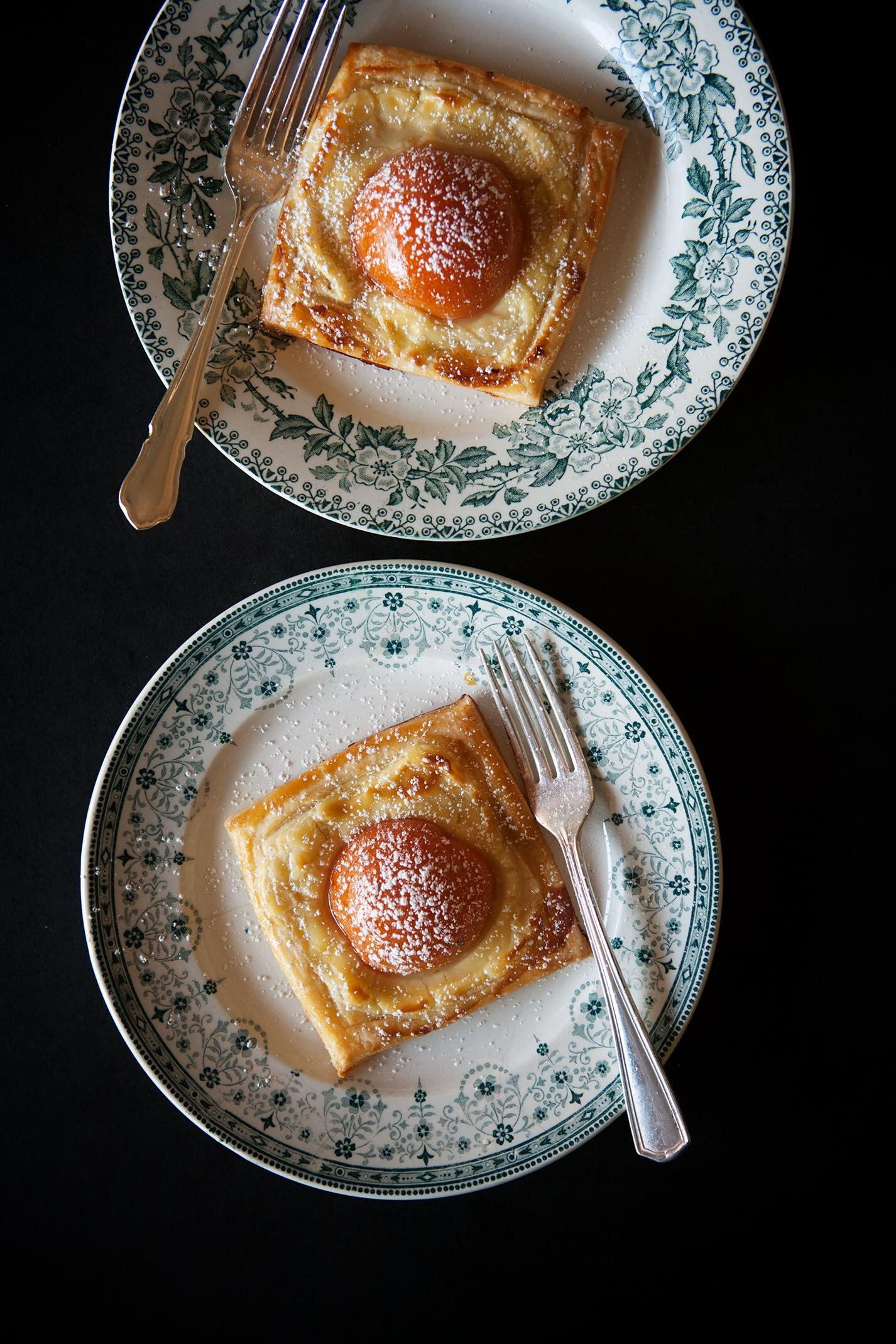 Fresh Apricot Breakfast Pastries