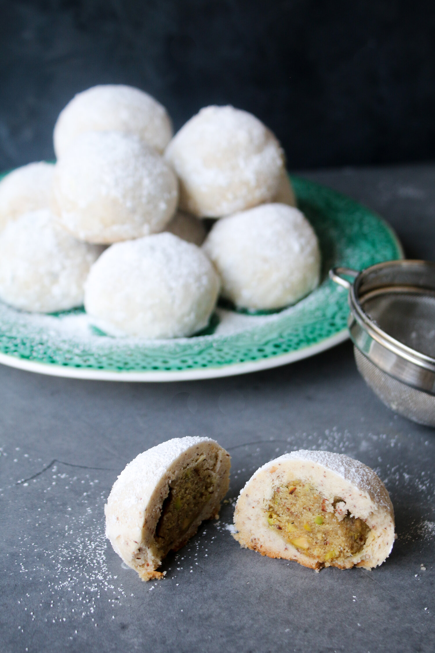 Ghari Stuffed Italian Wedding Cookies
