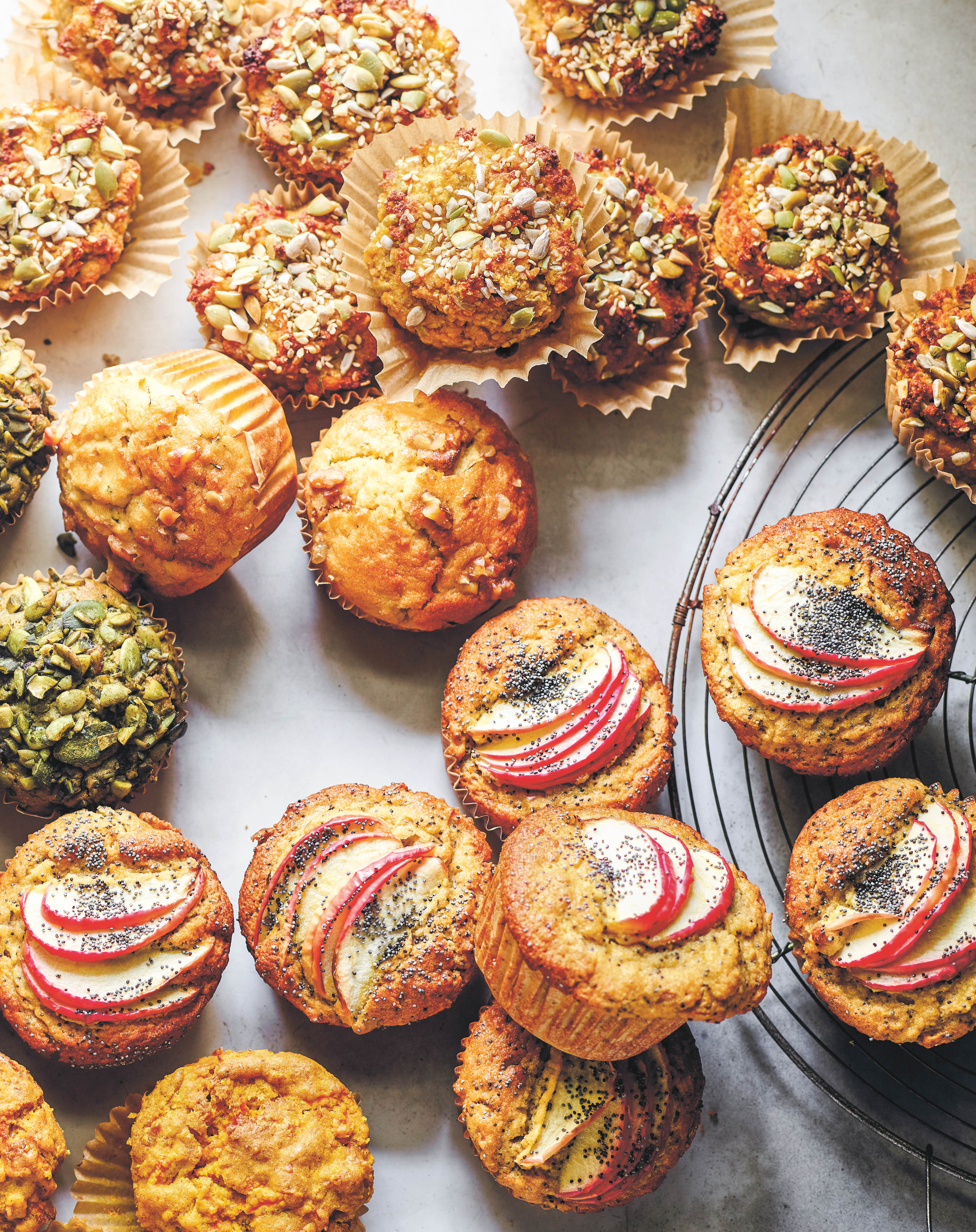 Apple Poppy Seed Muffins