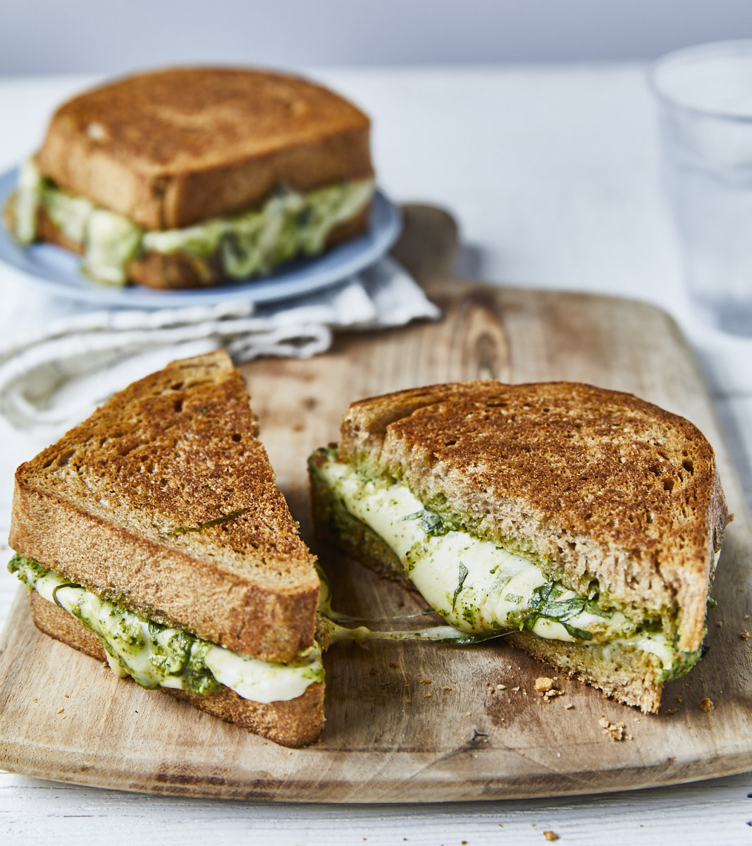 Melty Pesto Paninis