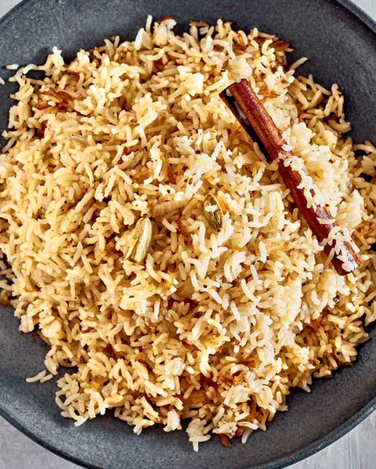 Zanzibar Pilau (Rice Pilaf)