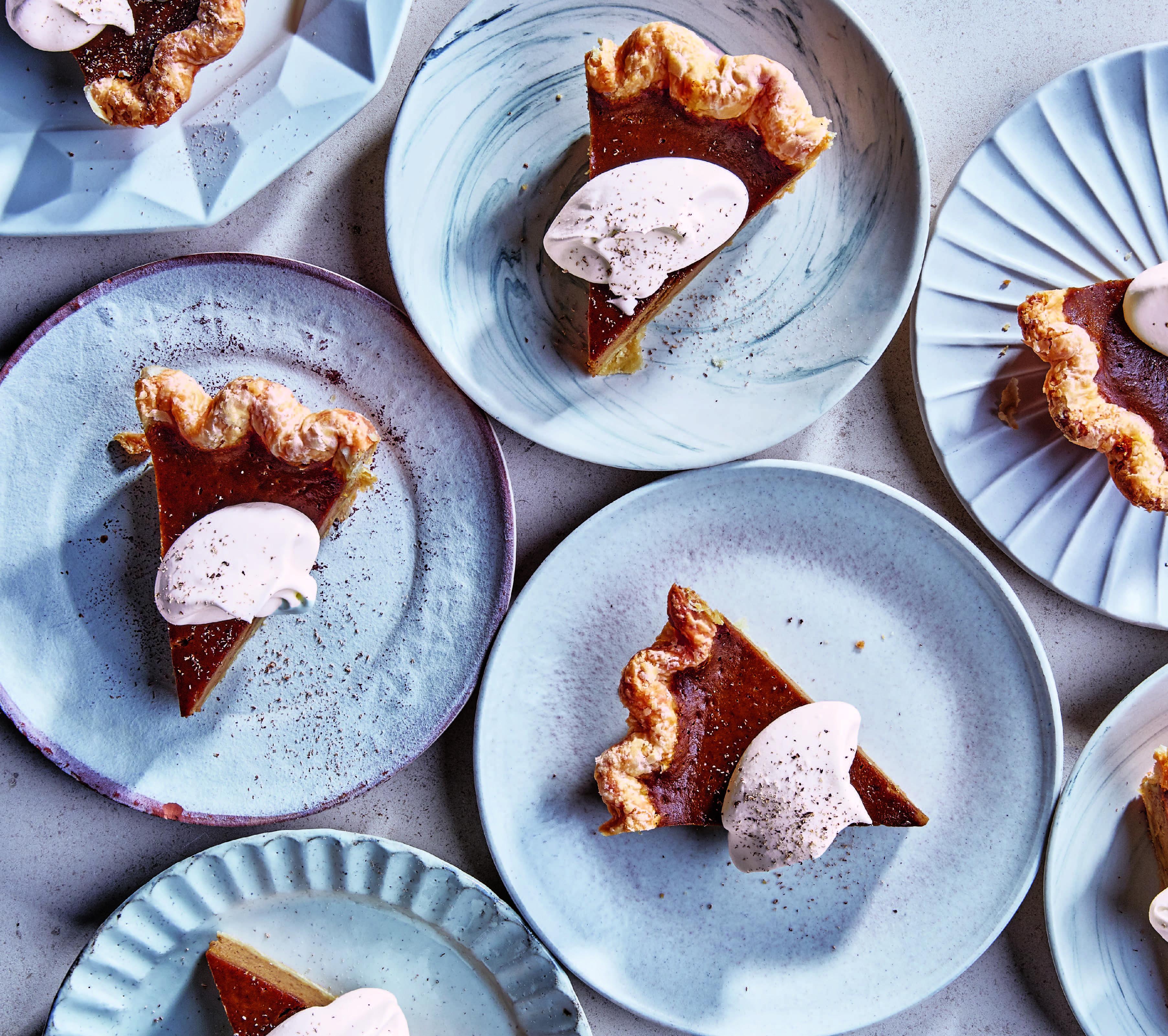 Caramelized Honey Pumpkin Pie