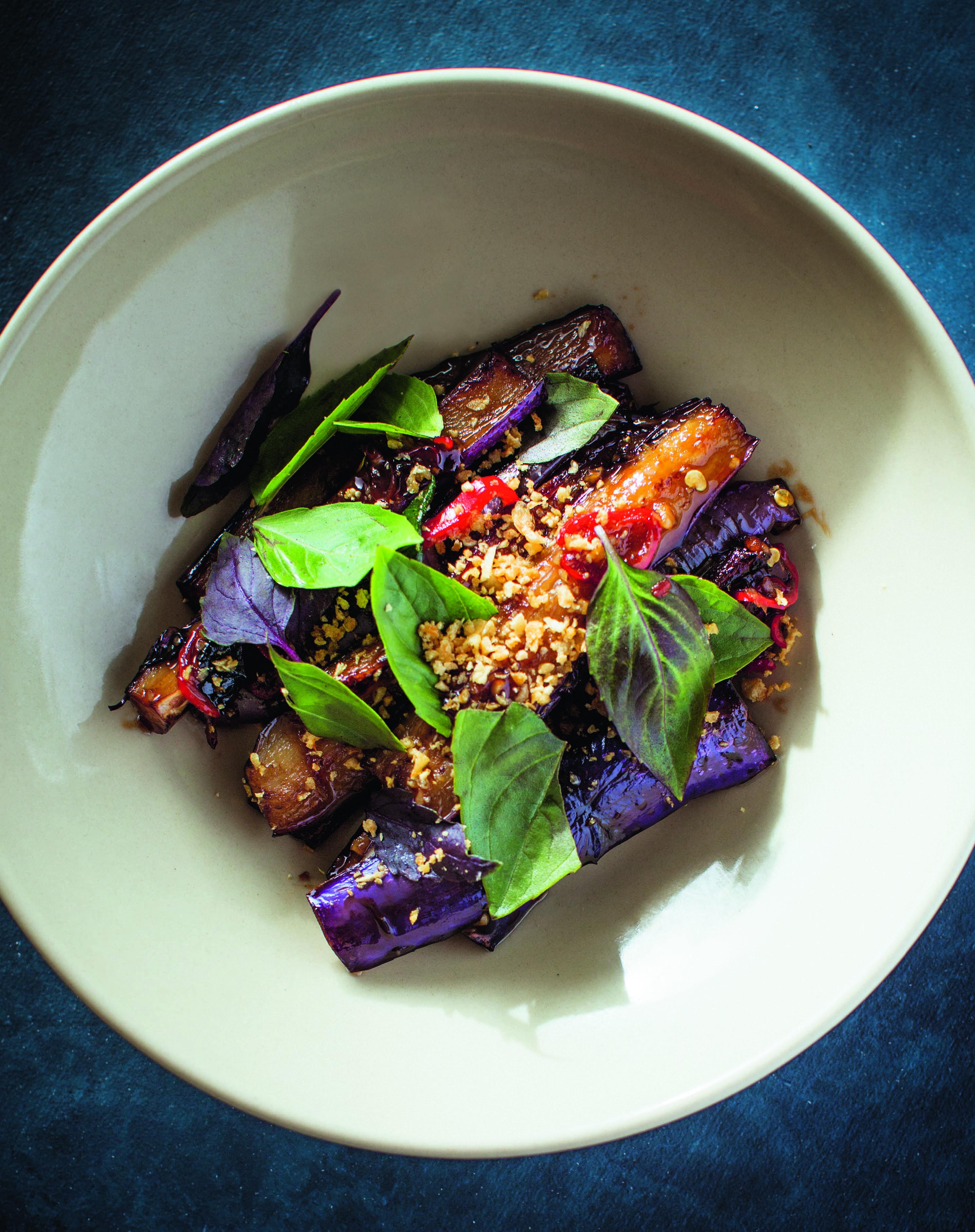 Taiwanese-Style Eggplant