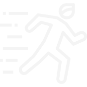 Man running icon.