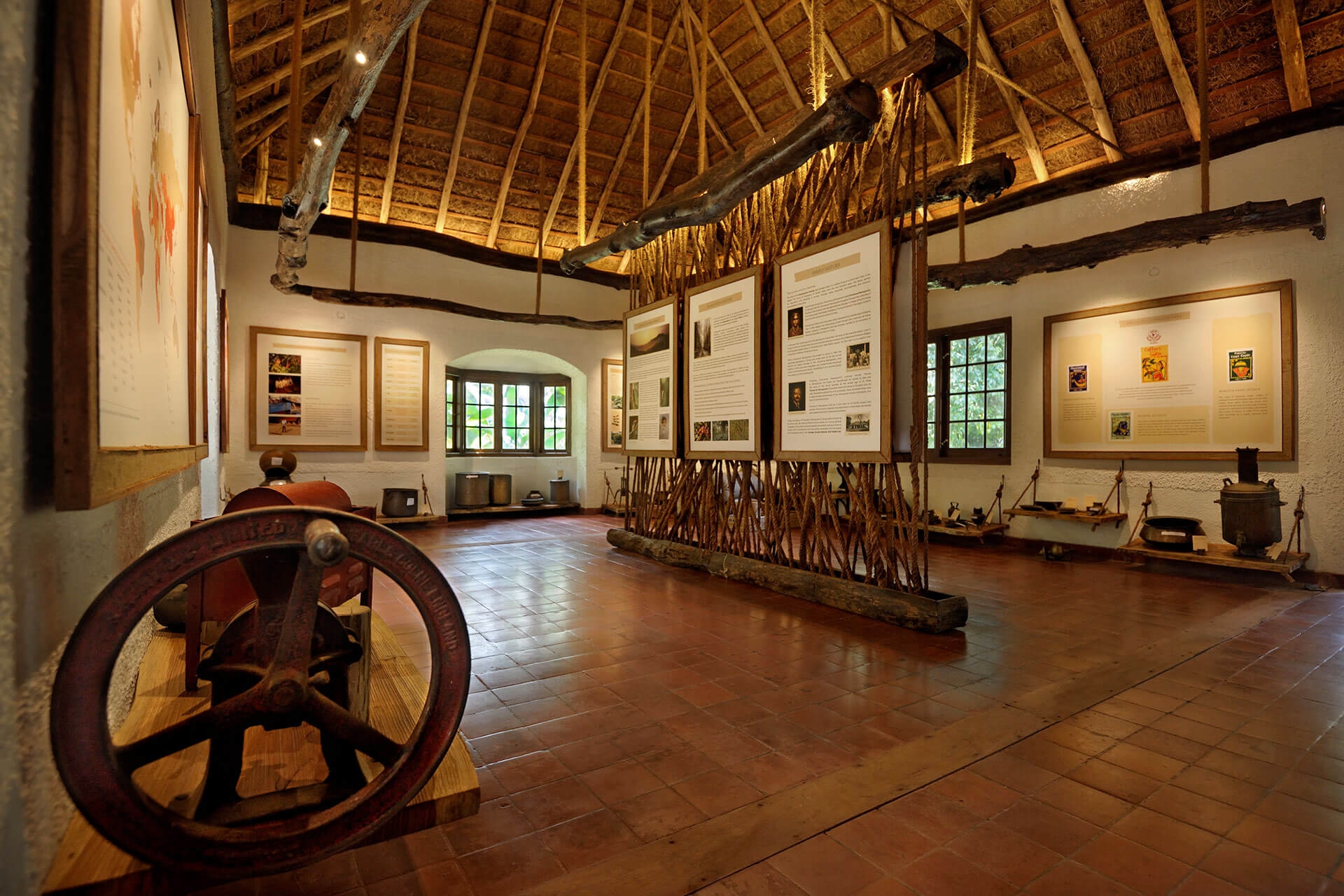 Interiors of the Sidapur Museum of Coffee & Culture