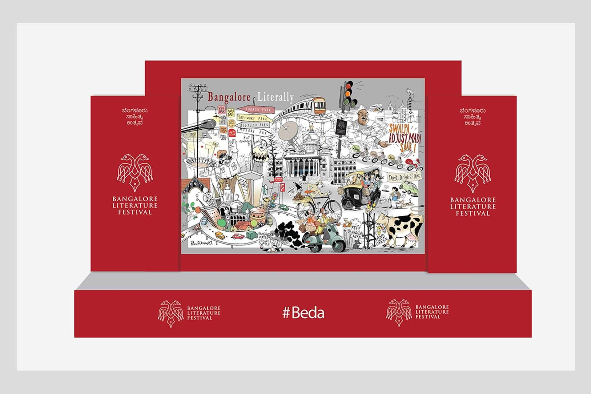 #Beda stage design at BLF 2016