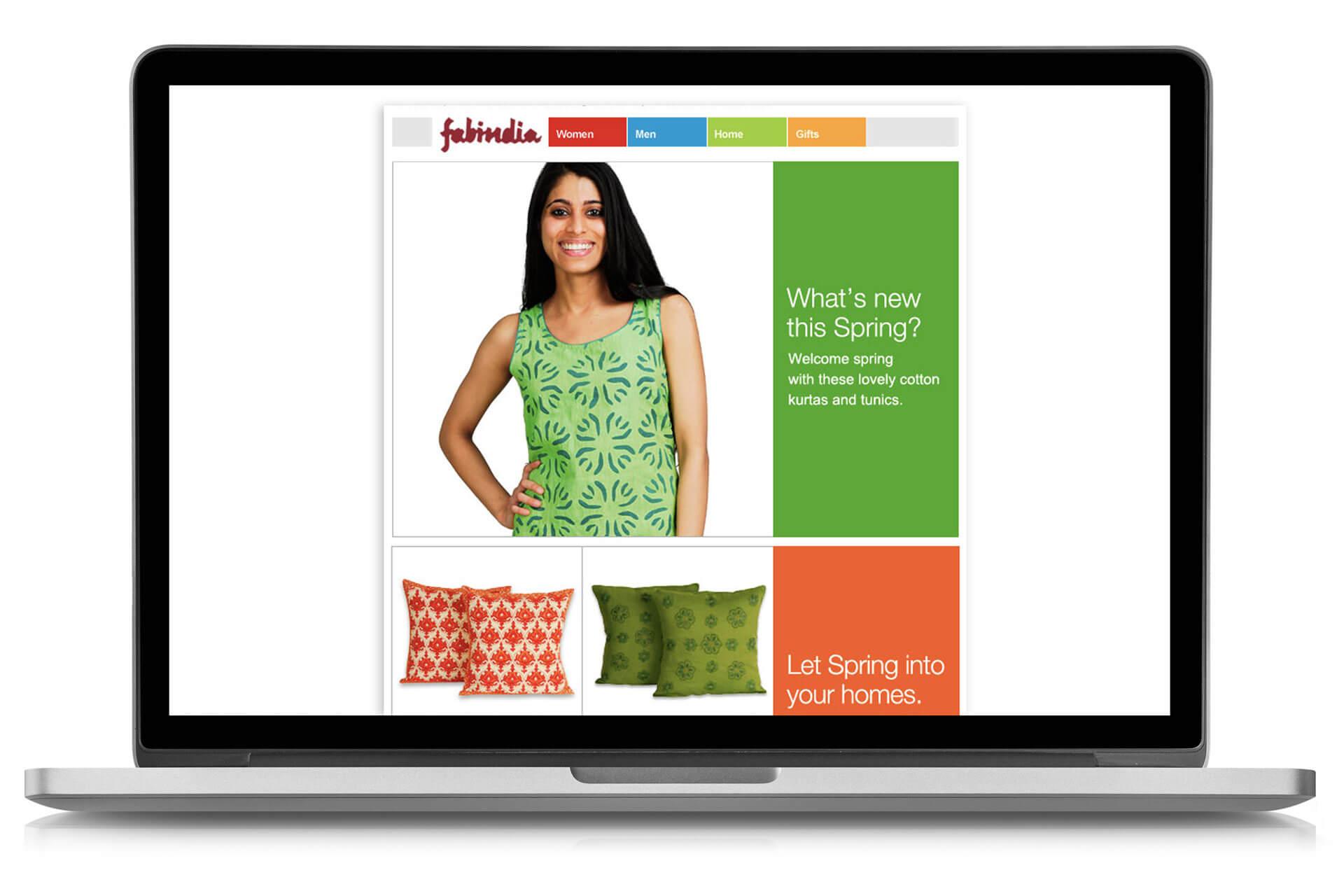 Fabindia mailer design