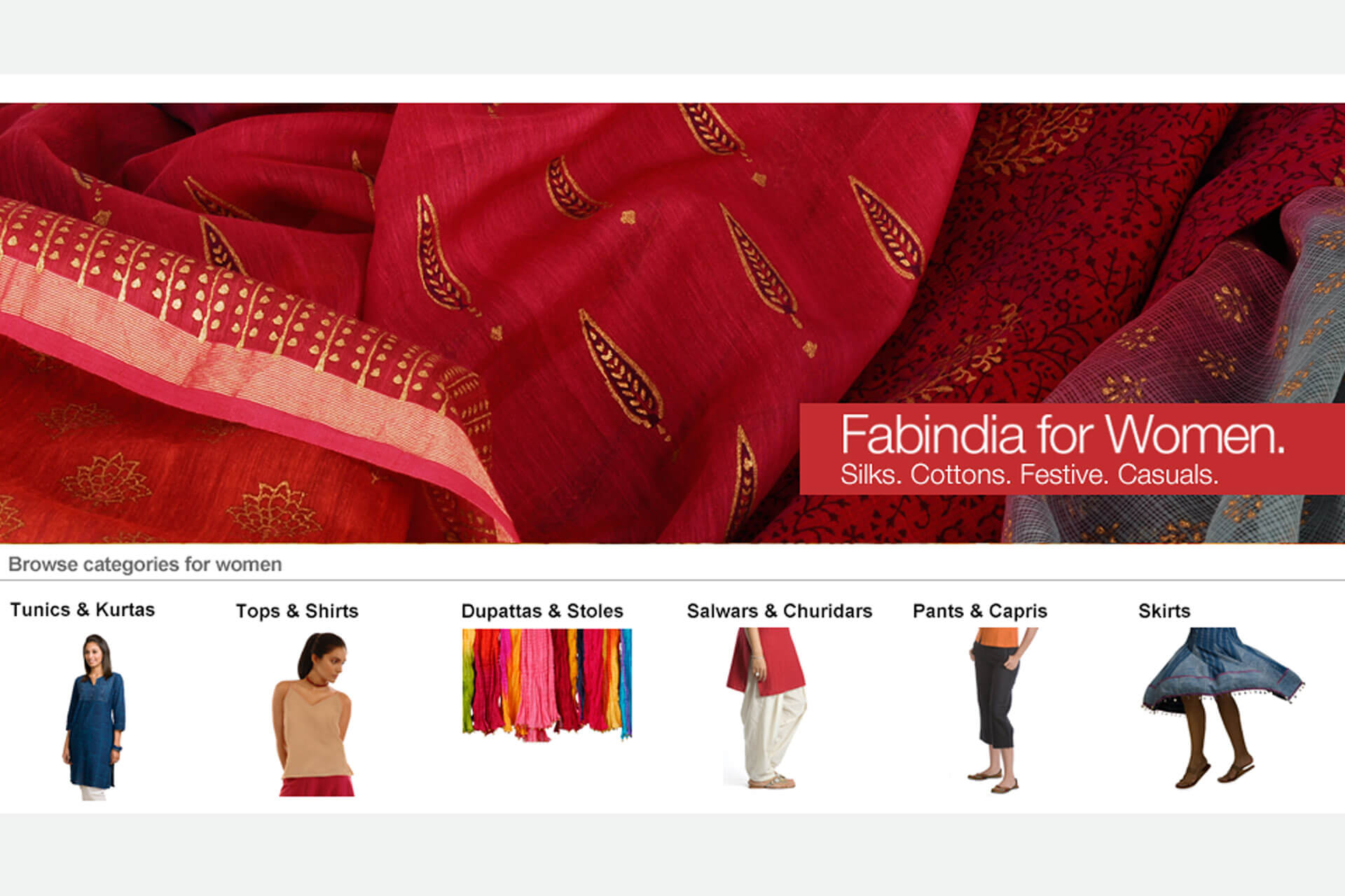 Fabindia for women