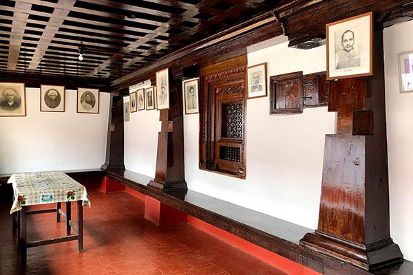 The verandah in a Kodava Ainmane