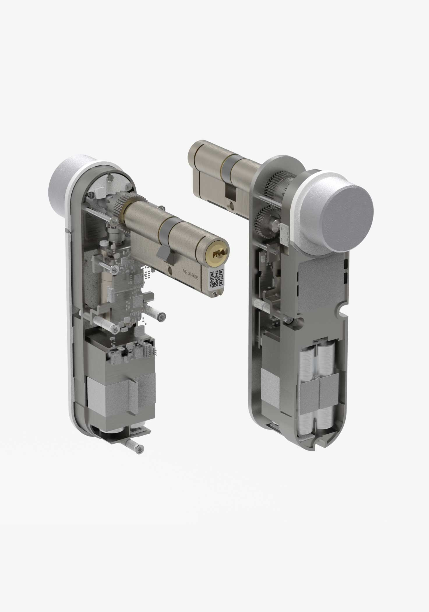 BrightLock cutaway showing mechanism