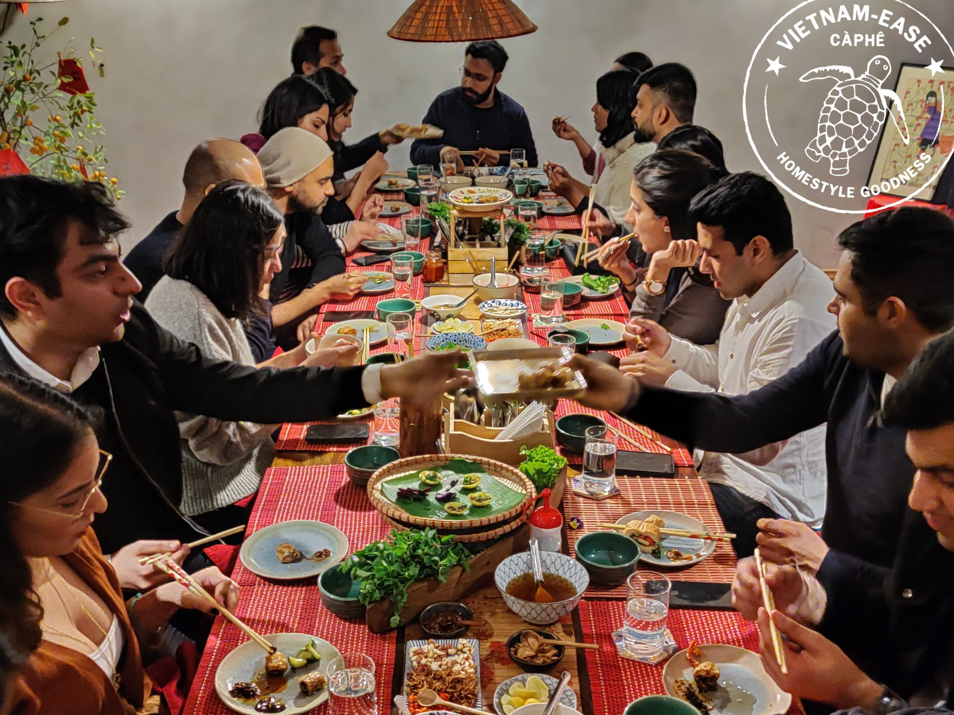 Home Experience and familystyle meals